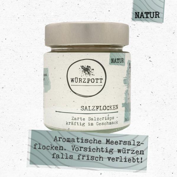 Salzflocken - Zarte Salzcrisps - kräftig im Geschmack
