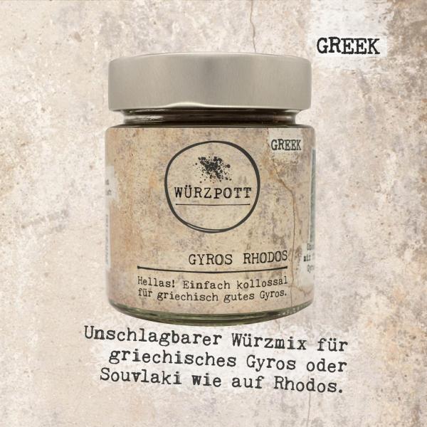 GYROS RHODOS - Hellas! Einfach kollossal für griechisch gutes Gyros.