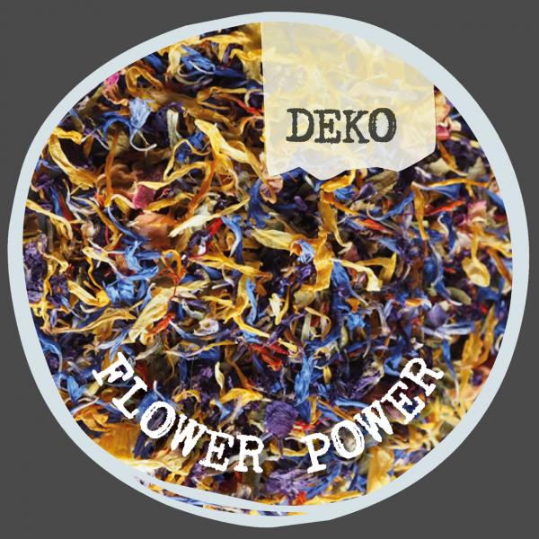 Flower Power - Farbenfrohe Blütenmischung als Deko für deine Gerichte!
