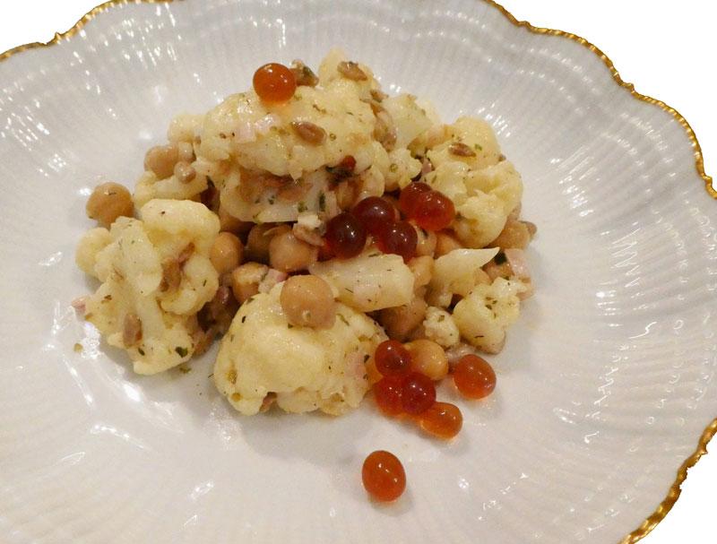 Salat mit Wmuth Gourmetperlen