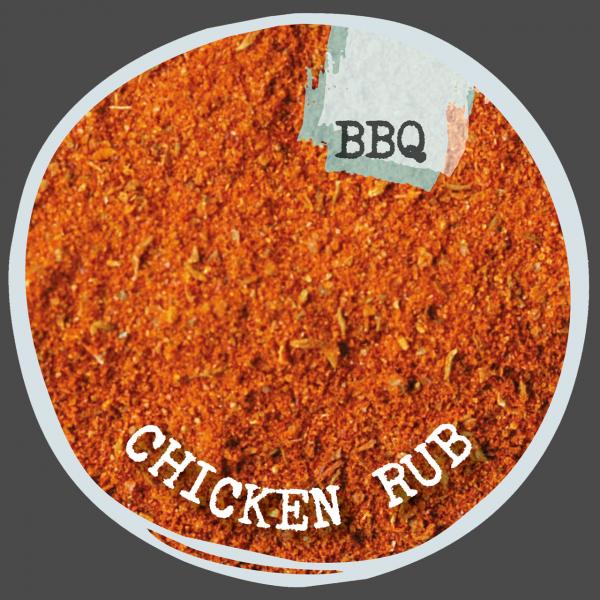 Chicken Rub - pikante Kruste auf guter Figur