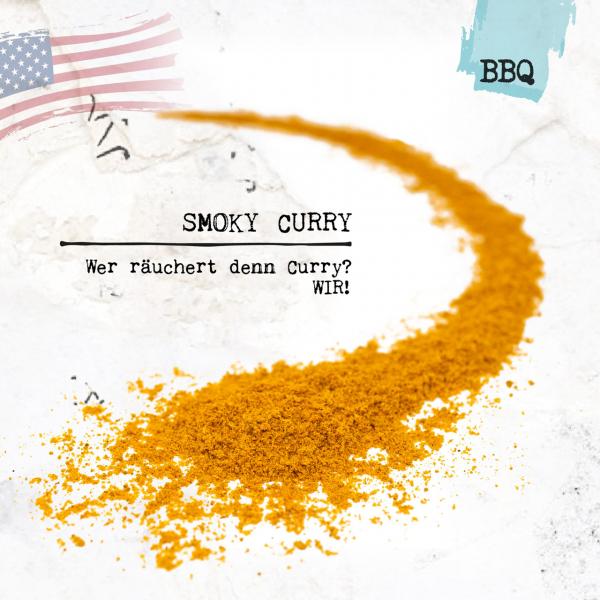 Smoky Curry - wer räuchert denn Curry? WIR!