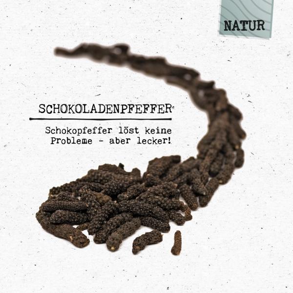 Schokoladenpfeffer - Schokopfeffer löst kein Probleme - aber lecker!